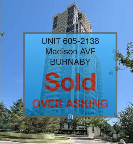 UNIT#605- 2138 MADISON AVE  BURNABY B.C.